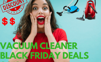 Vacuum Cleaner Black Friday Deals 2018