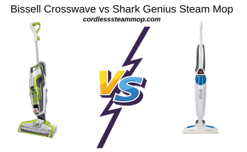 Bissell Crosswave vs Shark Genius Steam Mop