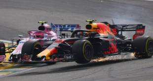 VERSTAPPEN SANCIONADO TRAS EL INCIDENTE CON OCON