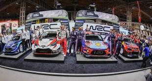 SE PRESENTARON LOS AUTOS DEL 2019 DEL WRC