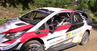 BOTTAS SE DIO EL GUSTO DE TESTEAR EL YARIS DE WRC