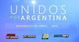 LAS CATEGORÍAS SE SUMAN A «UNIDOS POR ARGENTINA»