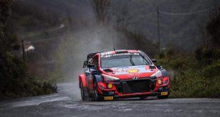 LOS PILOTOS DE HYUNDAI ENCABEZARON LA ARMADA WRC EN SAN REMO