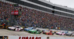 SE VIENEN CARRERAS CON TRIBUNAS COMPLETAS PARA LA NASCAR