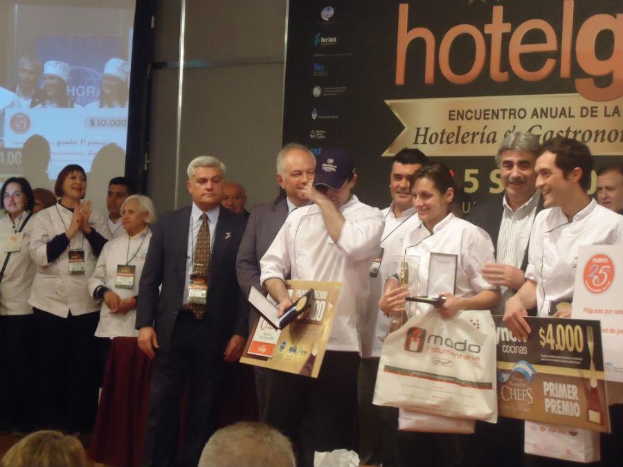 Ganadores del Torneo de Chefs