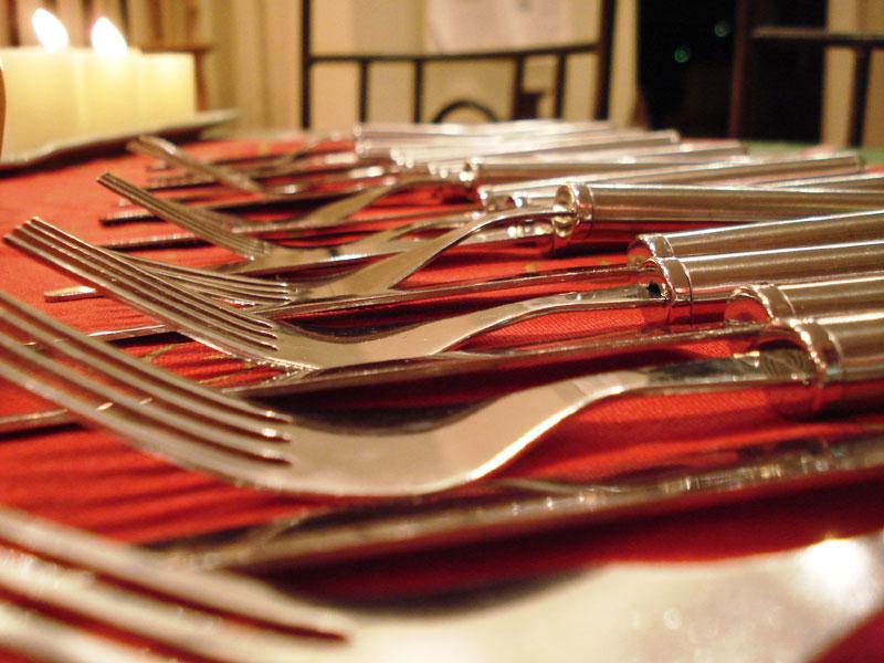 Ya se palpita la mesa navideña