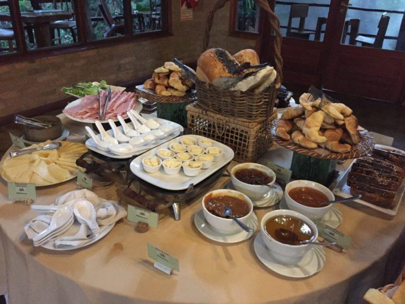 Desayunos en La Aldea de la Selva Lodge