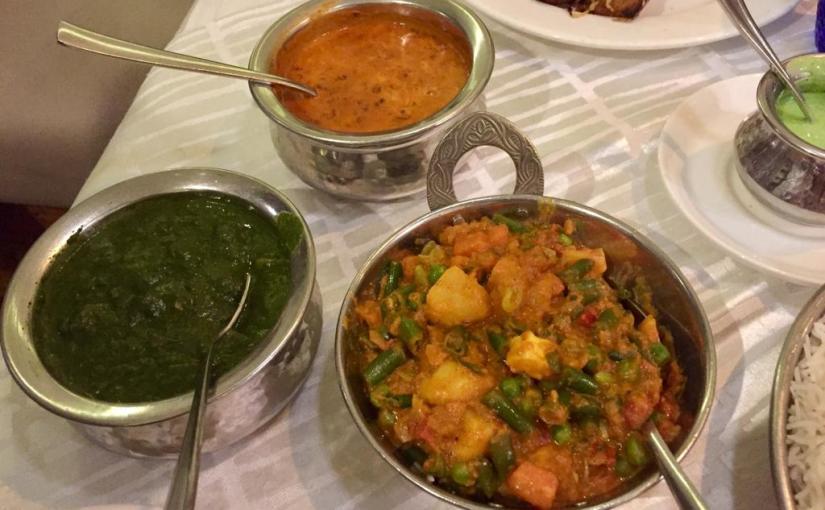 En India las especias son clave para dar sabor.