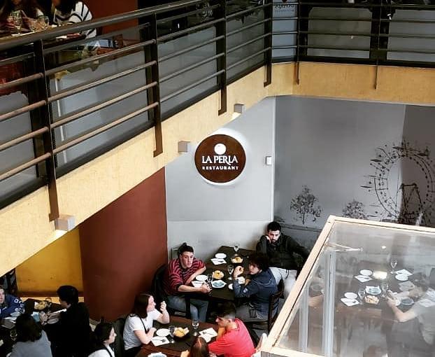 El restaurante La Perla