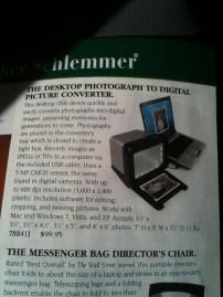 a.k.a Really bulky scanner