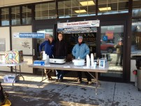 Cordova Telephone Cooperative gave out free homemade Salmon Chowder at the Parade