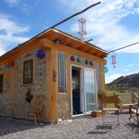 Cordwood Mermaid Cottage in Colorado