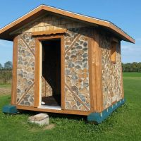 Moveable Cordwood Cabin