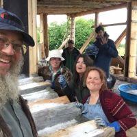 Alaska: The Last Frontier Cordwood Cabin
