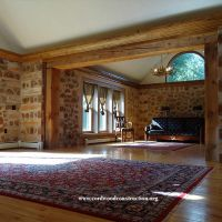 Cordwood Home on Lake Superior For Sale