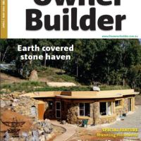 Owner Builder Magazine Cordwood Reveal
