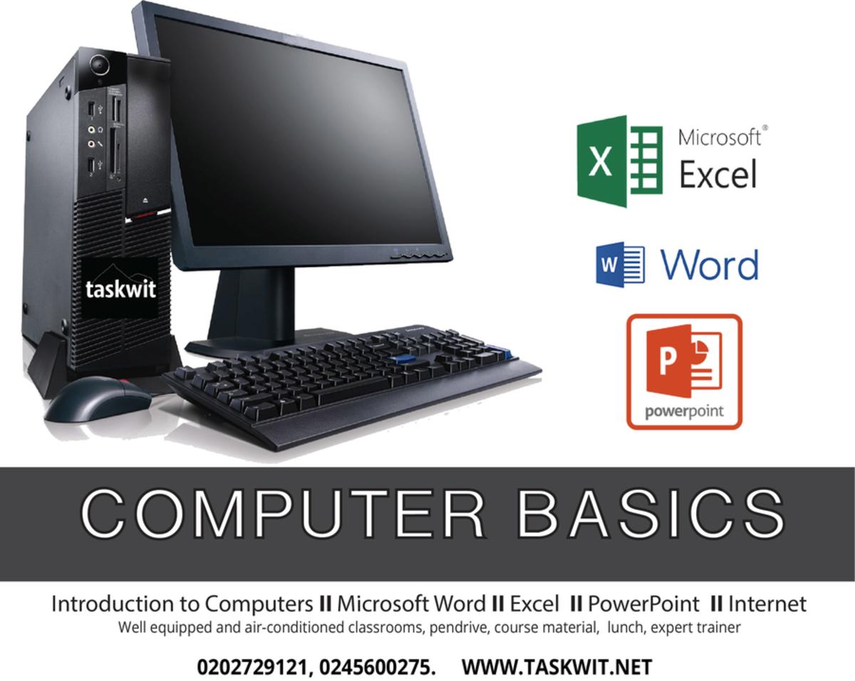 Computer Basics Beginners Class Tickets Accra