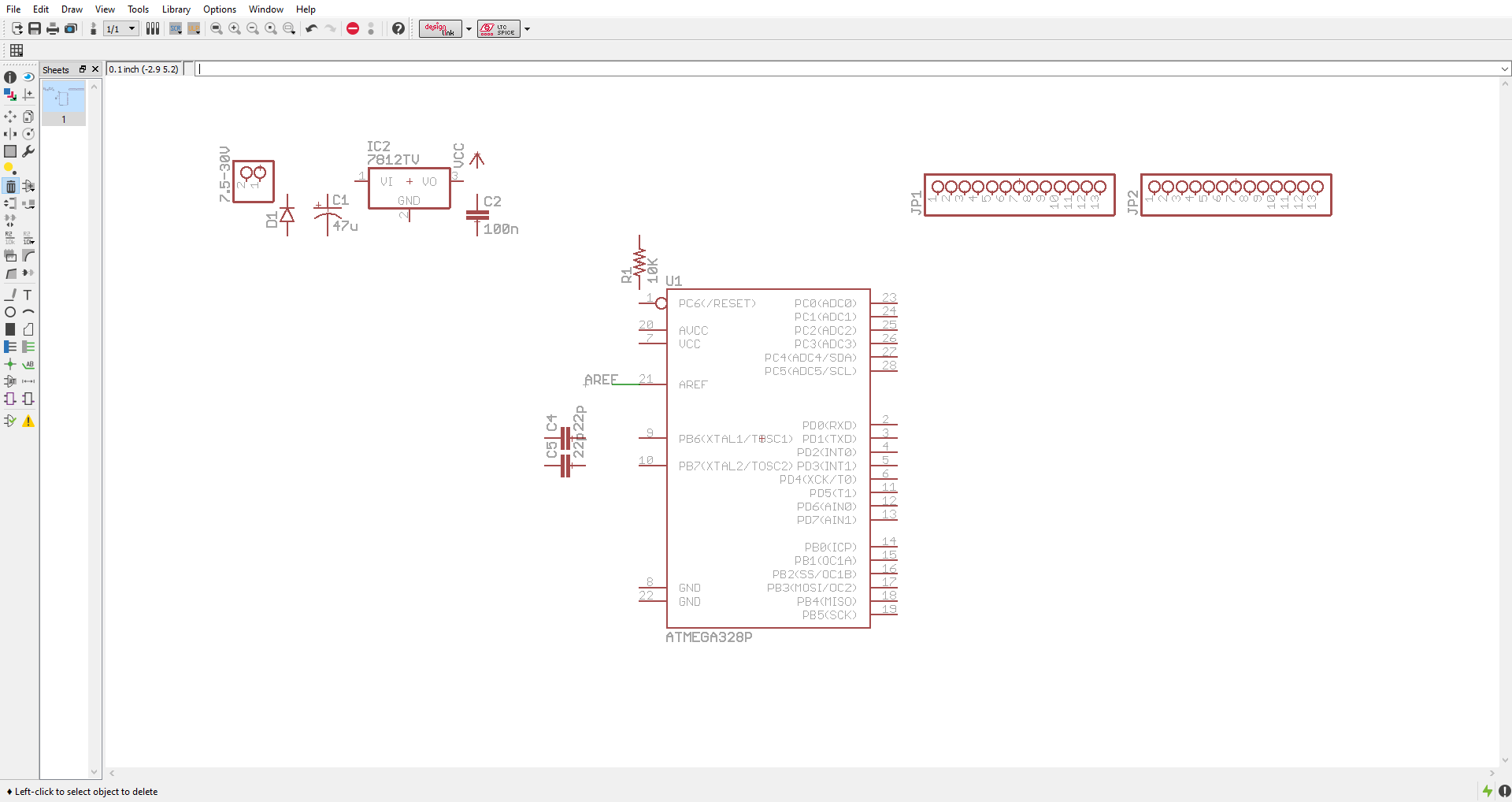Drawing Schematics With Eagle