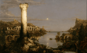 Thomas Cole painting The Course of Empire: Desolation
