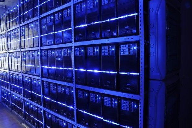 hyperscale data center cloud computing storage