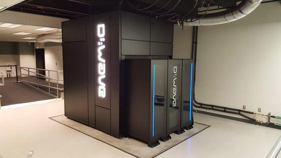 D-Wave 2X quantum computer