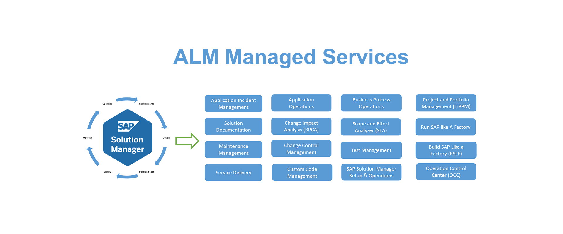 SAP ALM Managed Services