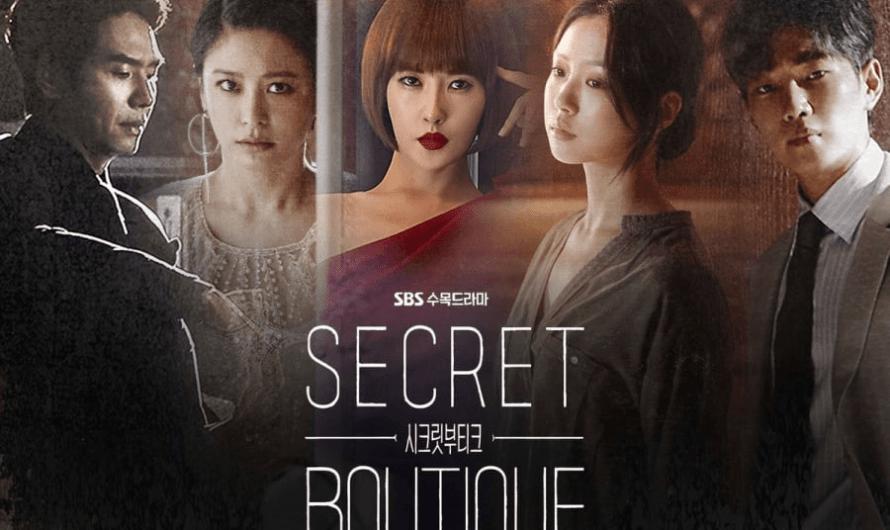 Primeiras impressões do drama 'Secret Boutique'