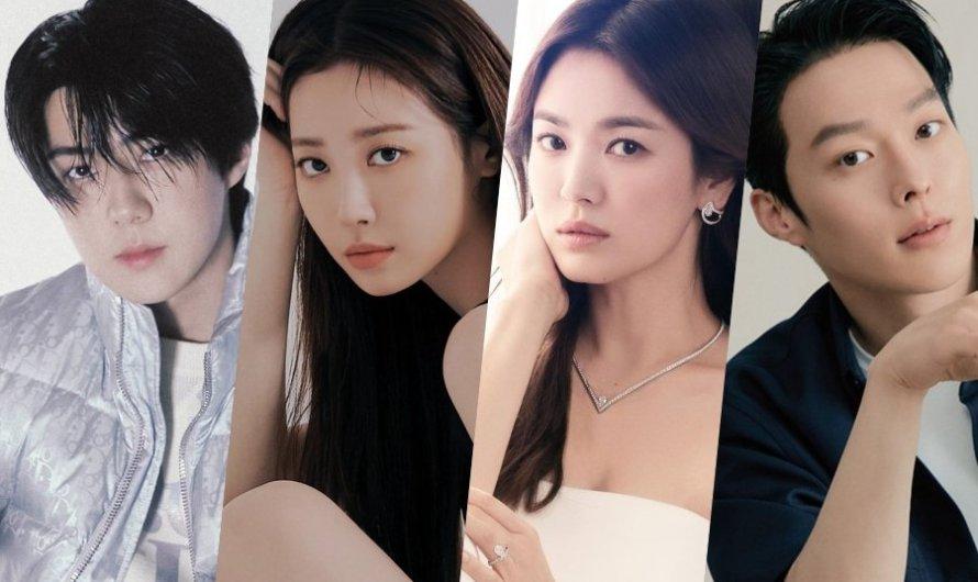Sehun do EXO e Yura do Girl's Day confirmam se juntar ao novo drama de Song Hye Kyo e Jang Ki Yong