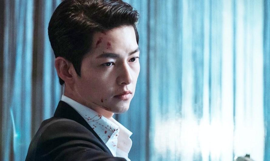 'Vincenzo' e Song Joong Ki alcançam o primeiro lugar nas listas de atores e dramas mais badalados