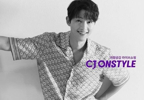 Song Joong Ki selecionado como novo modelo para CJ ONSTYLE