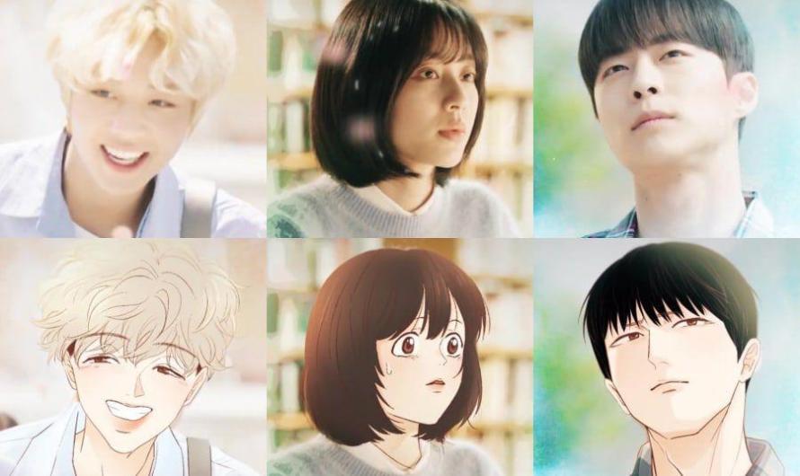 Park Ji Hoon, Kang Min Ah e Bae In Hyuk estão em sincronia com a versão do Webtoon no novo teaser de drama
