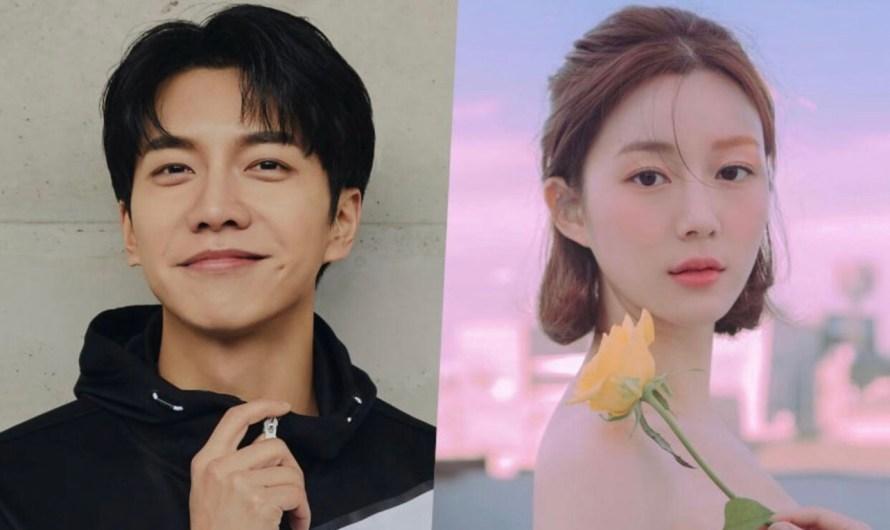 Lee Seung Gi e Lee Da In estão namorando