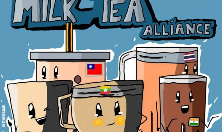 Especialistas chineses dizem que a 'Milk Tea Alliance' (Taiwan, Hong Kong e Tailândia) está explorando a Onda Coreana para interferir nos assuntos domésticos