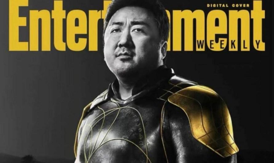 'The Eternals' da Marvel revela pôster do personagem de Ma Dong Seok