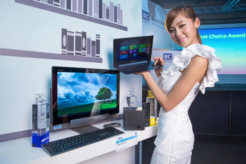 In Computex 2013  ASUS TAICHI_ won the Best Choice Gold and Best Choice of the Year Awards  while ASUS Transformer Ai_