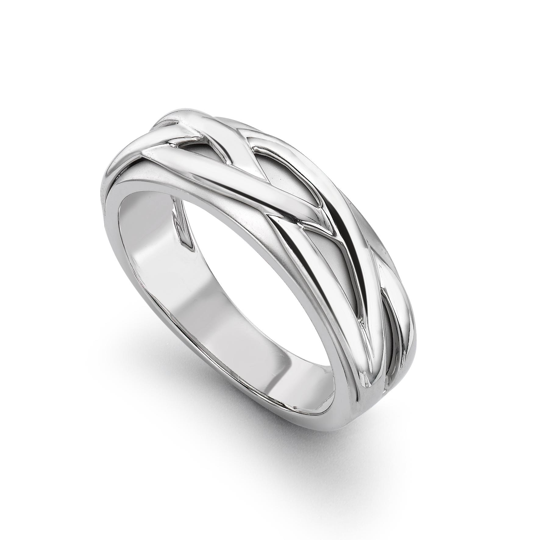 Bluestone Rings Platinum