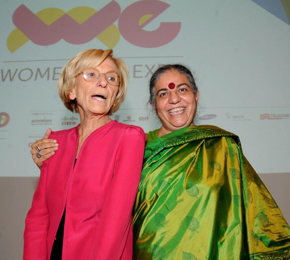 E.Bonino e V.Shiva a Torino