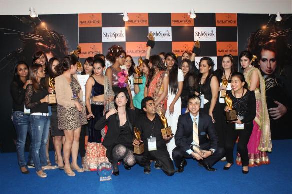 StyleSpeak Nailathon- Winners of competitions held