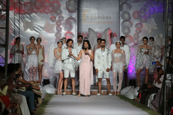 Shivani Wazir with Models
