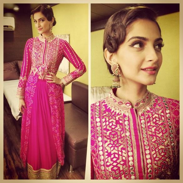 Sonam Kapoor wearing Anita Dongre 2