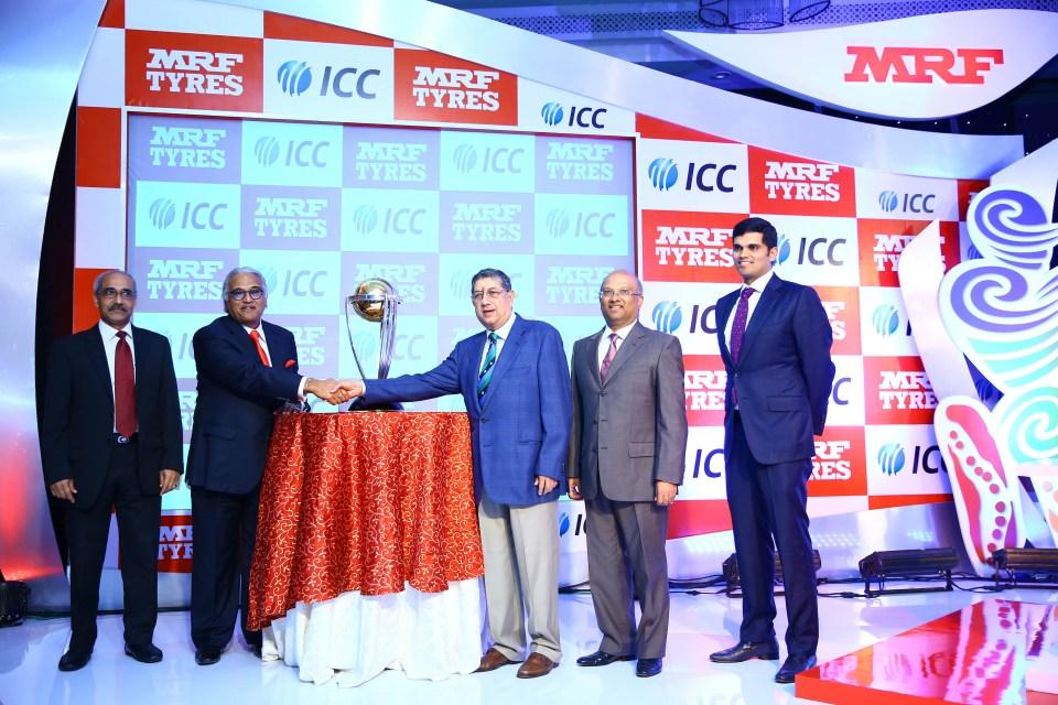 MRF - ICC WC Global Partner12