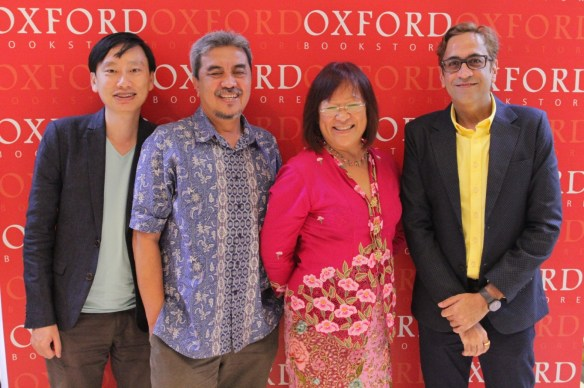 Oxford Bookstore celebrated Singapore's culture and litreature with Dr Gwee Li Sui  Josephine Chia  Isa Kamari and Ha_