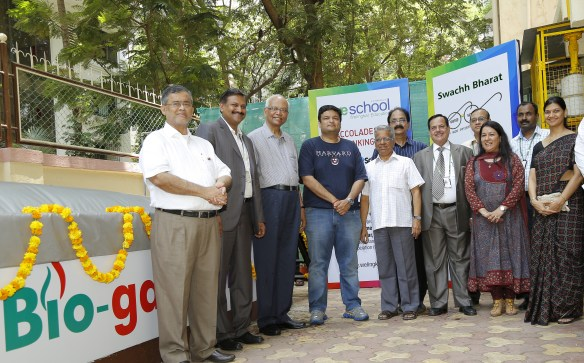 Inauguration of BioGas plant at WeSchool