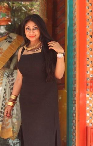 Designer Anuradha Ramam