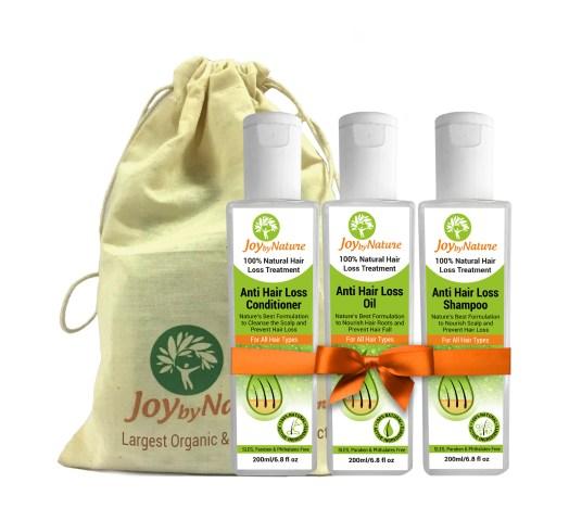 JoyByNature.com Natural Hair Loss Treatment Kit