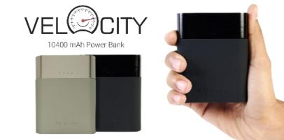 Portronics Power Bank_ 'Velocity' 10400 mAh