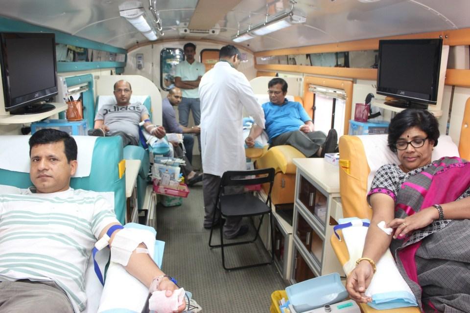 Blood donation drive at Zulekha Hospital Dubai