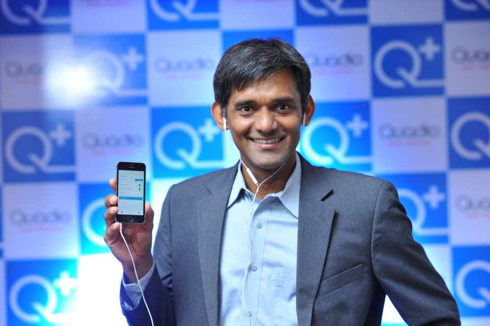 Anurag Sharma  Co-Founder and CTO  Quadio Devices Pvt Ltd