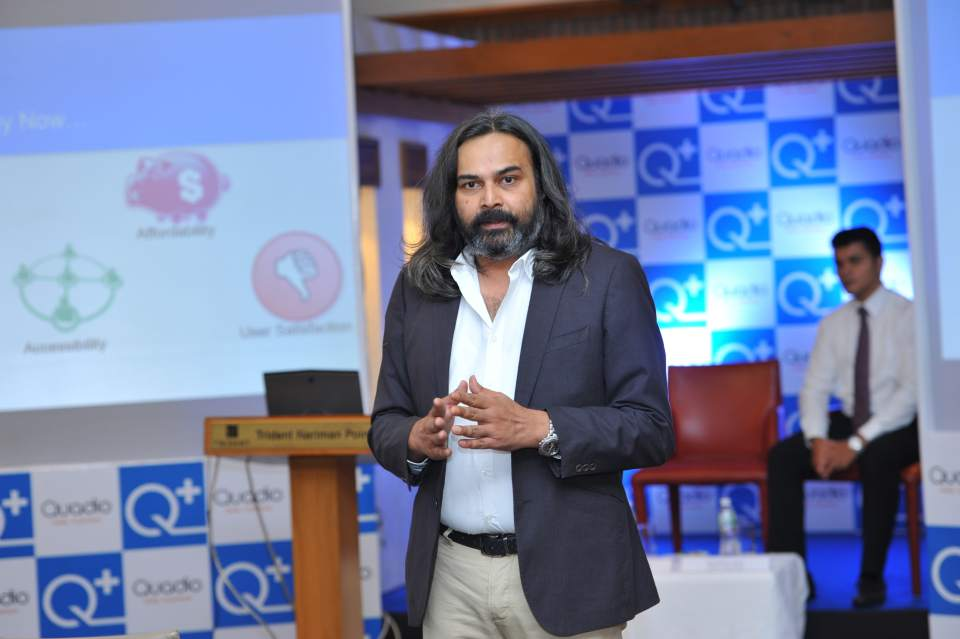 Neeraj Dotel  CEO  Quadio Devices Pvt Ltd