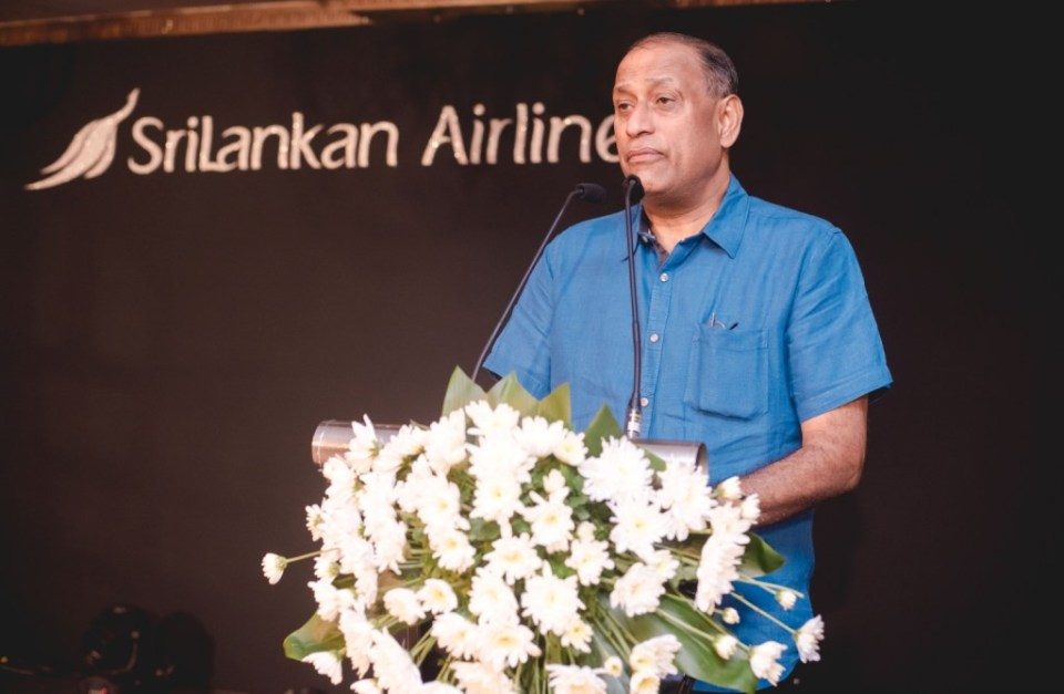 Mr. Siva Ramachandran  Chief Commercial Officer of SriLankan Airlines